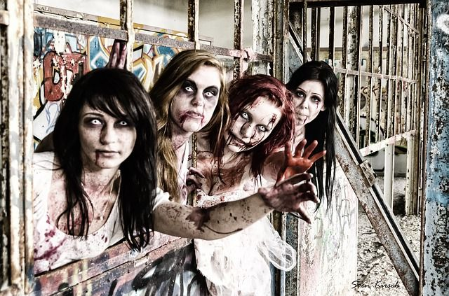 'Zombie Bank?' Image Credit: 'Zombies', Photo by SvenKirsch, CC0 Public Domain, via pixabay.