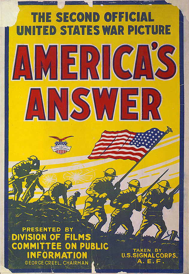 WWI American poster