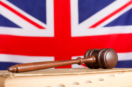 gavel book uk flag