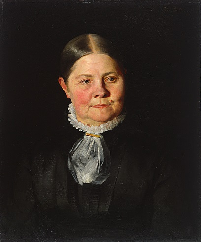 Portrait of Lucy Stone, 1881.