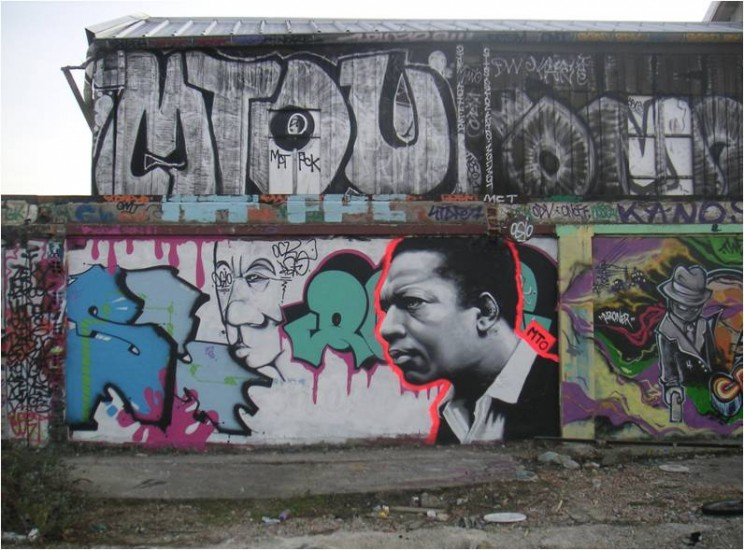 MTO, John Coltrane, 2009. Courtesy of the author.
