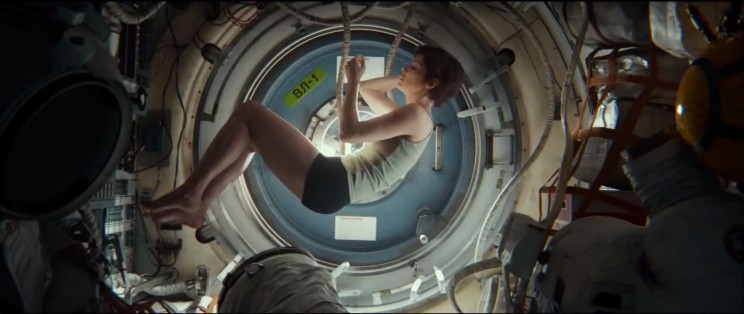 Sandra Bullock as Ryan Stone in 'Gravity'