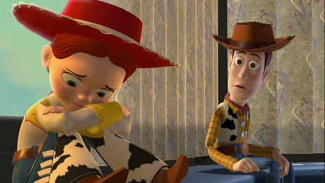 Jessie and Woody in 'Toy Story 2' (c. Walt Disney Pictures presents Pixar Animation Studios 1999)