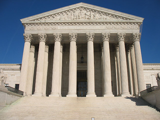 The Supreme Court of the United States, via Wikimedia Commons creative commons license
