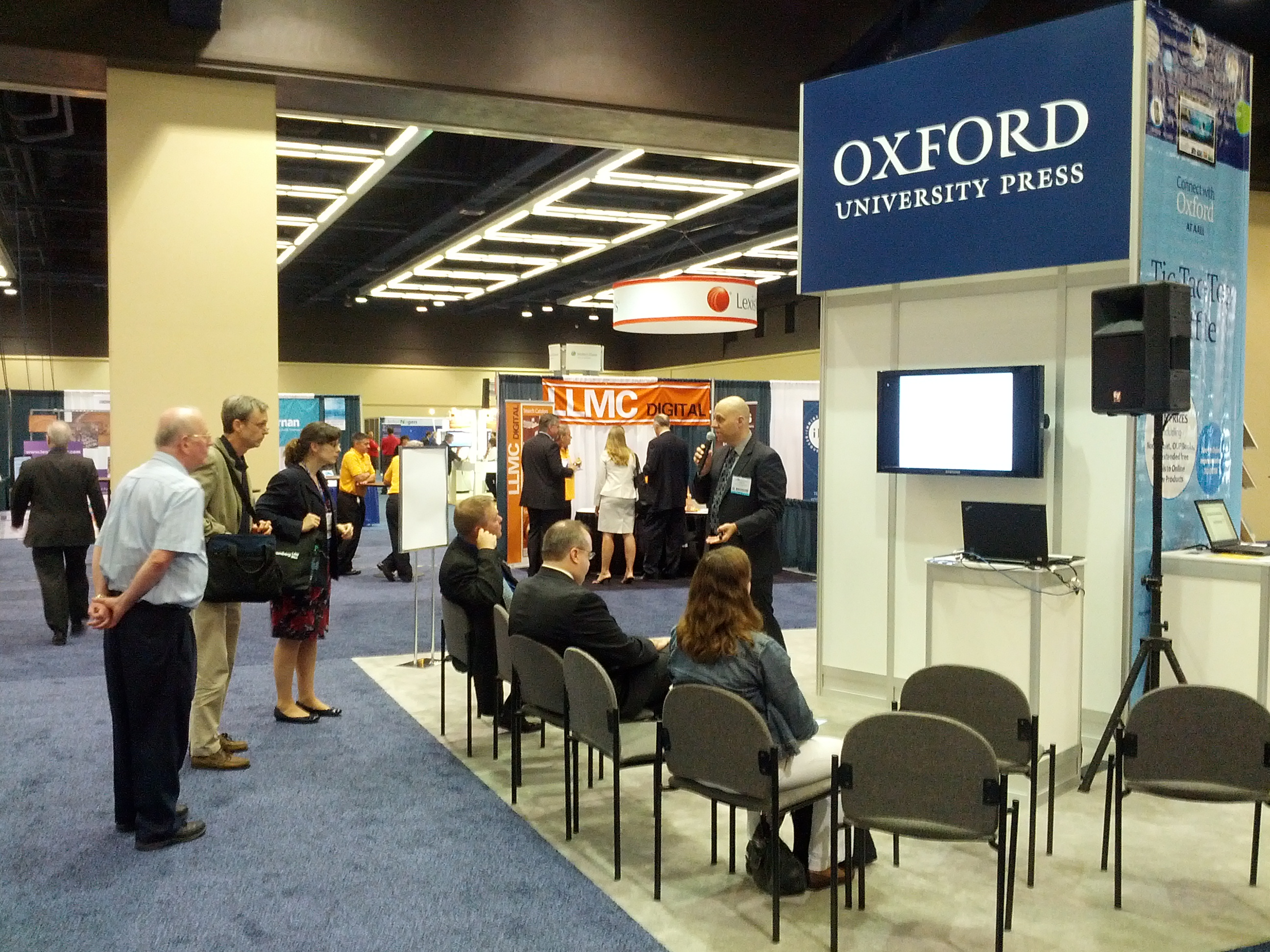 Oxford University Press at the American Association of Law Libraries Meeting.