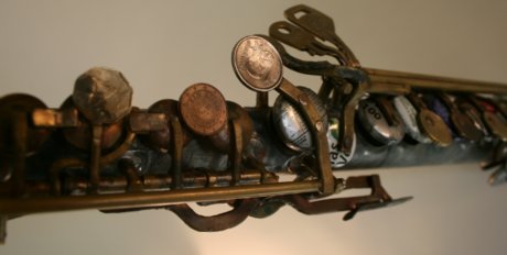 Flute keys made from discarded materials © Landfill Harmonic http://www.landfillharmonicmovie.com/