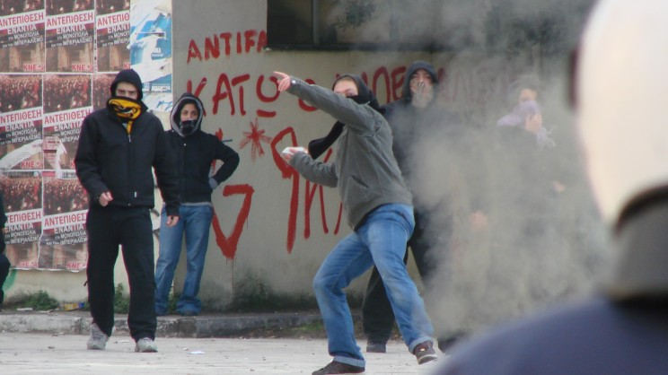 Protests in Greece after recent austerity cuts