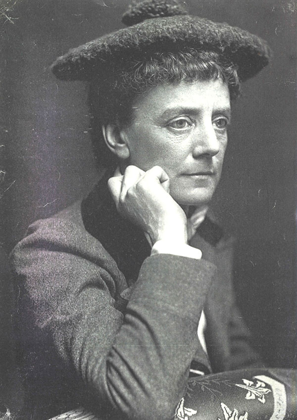 Ethel Smyth, 1908. Lewis Orchard Collection Ref.9180, courtesy of Surrey History Centre.