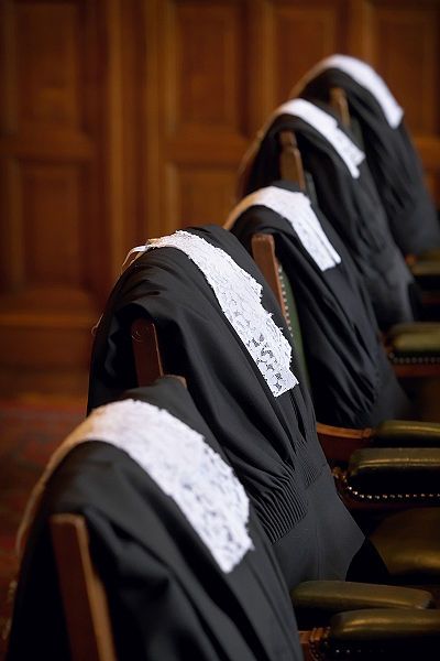 Int Court Justice law robes