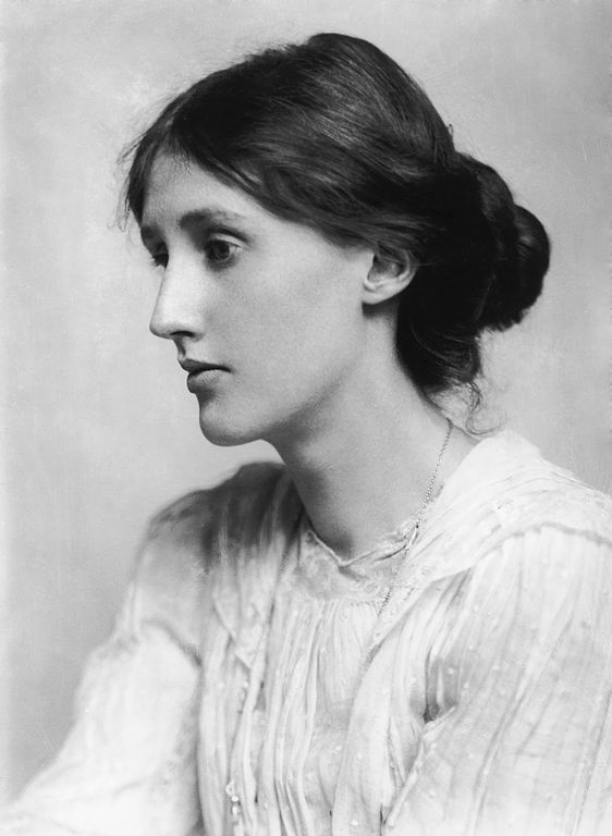 Virginia Woolf by George Charles Beresford. Public domain via Wikimedia Commons.