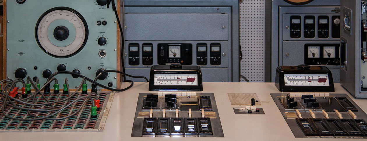 Control Panel from Motown Recording Studios, courtesy of the Oxford University Press Blog