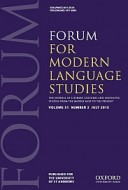 Forum for Modern Language Studies cover