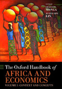monga-ohb africa and economics vol 1