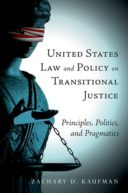 US Law and Policy on Transitional Justice