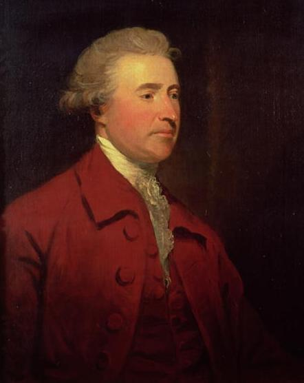 Edmund Burke, painted by James Northcote