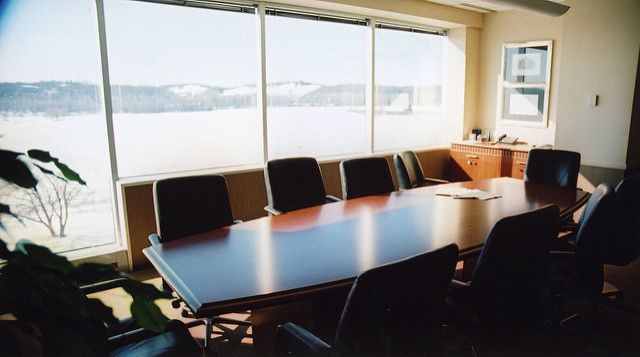 Board Room by Benjamin Child. Public domain via Unsplash.