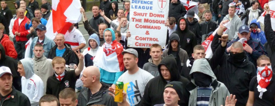 East Anglia Patriots, EDL Splinter group march in Lincoln against building of new mosque.